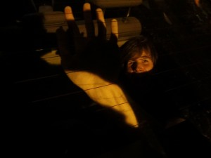 Jake in the trunk